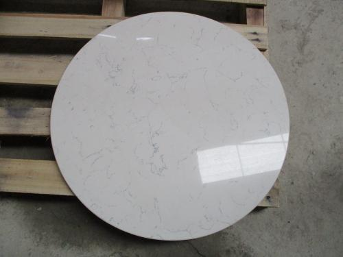 Carrara White Quartz Tabletop