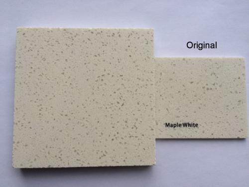 Maple White - original VS color matched